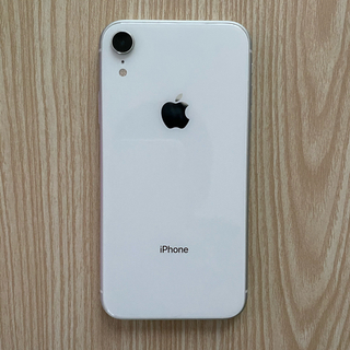 アップル(Apple)のiPhone  XR 64gb SIMフリー 美品(スマートフォン本体)