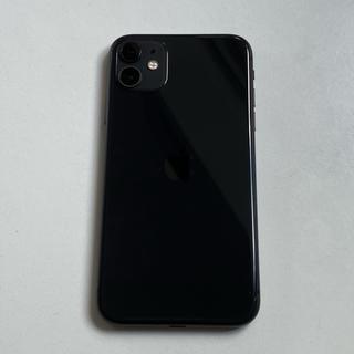 Apple - 【即日発送可能】 iPhone11  本体 64GB black simフリー