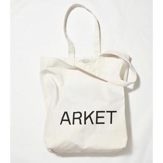 エイチアンドエム(H&M)の日本未上陸 H&Mグループ新ブランド ARKET Canvas Tote(トートバッグ)