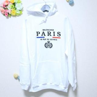 バレンシアガ(Balenciaga)の激安⭐️balenciaga パーカー M(Tシャツ(半袖/袖なし))