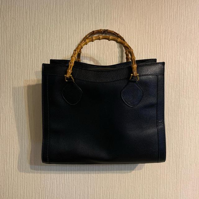 Gucci(グッチ)のGUCCI トートバッグ バンブー black 黒 メンズのバッグ(トートバッグ)の商品写真