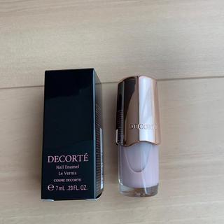 コスメデコルテ(COSME DECORTE)のコスメデコルテ ネイルエナメル PU141 限定色 (マニキュア)