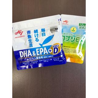 アジノモト(味の素)の味の素 DHA&EPA+ビタミンD カプシEX(その他)
