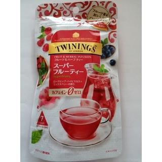 トワイニングフルーツ&ハーブティーローズヒップハイビスカスミックスベリーの香り(茶)