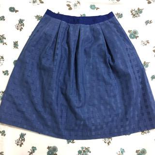 テチチ(Techichi)のTechichi 青色スカート(ひざ丈スカート)