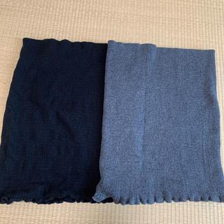 ムジルシリョウヒン(MUJI (無印良品))の無印良品ハラマキ(マタニティ)黒&グレー(マタニティ下着)