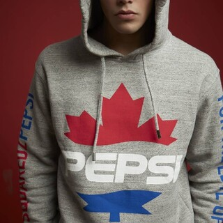 DSQUARED2 - 新品 M Dsquared2 Pepsi Hooded Sweatshirt