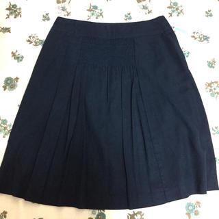 テチチ(Techichi)のTechichi 紺色スカート(ひざ丈スカート)