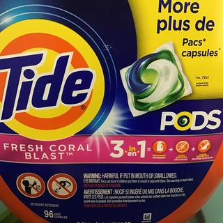 ピーアンドジー(P&G)の専用ページ Tide ジェルボール 96個入(洗剤/柔軟剤)