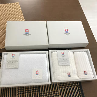 今治タオル - 今治タオル3枚セットまとめ売り新品未使用フェイスタオル2枚ウォッシュタオル1枚