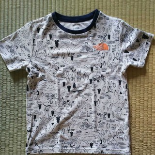 THE NORTH FACE - THE NORTH FACE キッズ イラストTシャツ