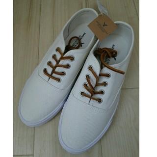 アメリカンイーグル(American Eagle)のアメリカンイーグル 23cm 靴 シューズ スニーカー 白(スニーカー)