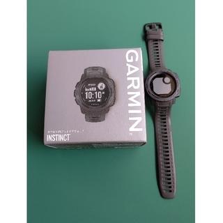 ガーミン(GARMIN)のGARMIN(ガーミン) Instinct Graphite グラファイト(腕時計(デジタル))