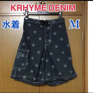 アヴァランチ(AVALANCHE)のKRHYME DENIM サーフパンツ M(水着)