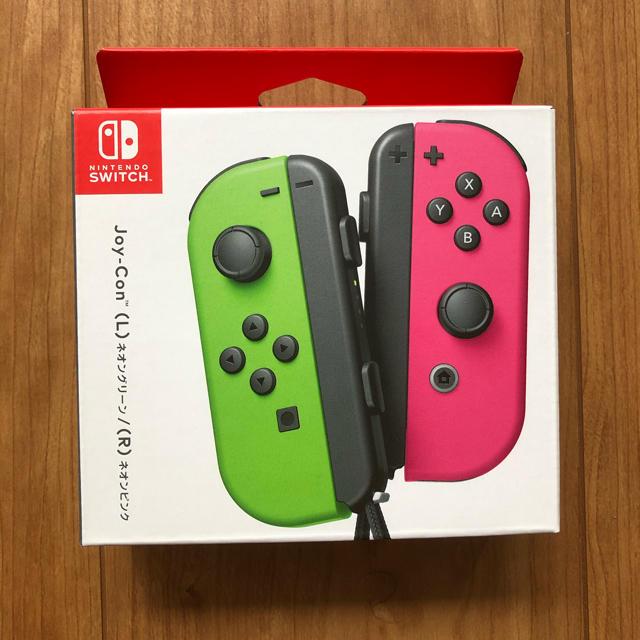 Nintendo Switch(ニンテンドースイッチ)の【新品未使用】Nintendo switch joy-con ジョイコン エンタメ/ホビーのゲームソフト/ゲーム機本体(その他)の商品写真
