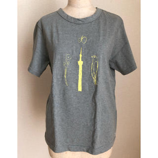 ミナペルホネン(mina perhonen)のミナペルホネン スカイツリーTシャツ(Tシャツ(半袖/袖なし))