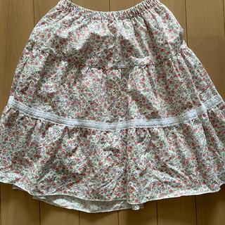 リズリサ(LIZ LISA)の【リズリサ 花柄スカート】Mサイズ(ひざ丈スカート)