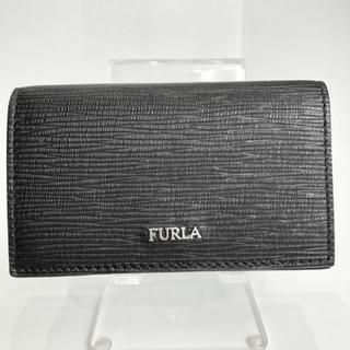 フルラ(Furla)のFURLA フルラ メンズ カードケース 名刺入れ 1032175 黒(名刺入れ/定期入れ)