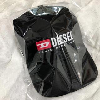ディーゼル(DIESEL)のDIESEL ディーゼル キャップ CAP 新品未使用 ブラック 黒 帽子(キャップ)