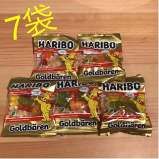ゴールデンベア(Golden Bear)のモカ☆様専用 7袋 ハリボー ゴールデンベア(菓子/デザート)
