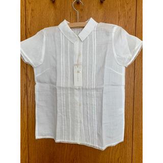 スタディオクリップ(STUDIO CLIP)の新品タグ付き 白のレースシャツ(シャツ/ブラウス(半袖/袖なし))