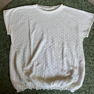 テチチ(Techichi)の未使用 アイレットジャガード地カットソー(Tシャツ/カットソー(半袖/袖なし))