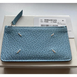 Maison Martin Margiela - メゾンマルジェラ カードケース 水色 美品