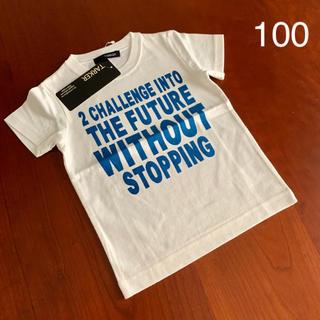 ターカーミニ(t/mini)の⭐️未使用品 ターカーミニ t/mini  Tシャツ 100サイズ(Tシャツ/カットソー)