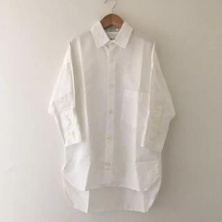 マディソンブルー(MADISONBLUE)のマディソンブルー  カフシャツ  白 ホワイト (シャツ/ブラウス(長袖/七分))