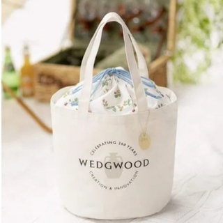 WEDGWOOD - GLOW 7月号 付録♥ウェッジウッド♥ロゴバッグ
