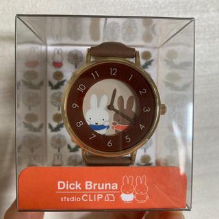 スタディオクリップ(STUDIO CLIP)のアソートラウンドウォッチ 04 Dick Bruna×studio CLIP(腕時計)