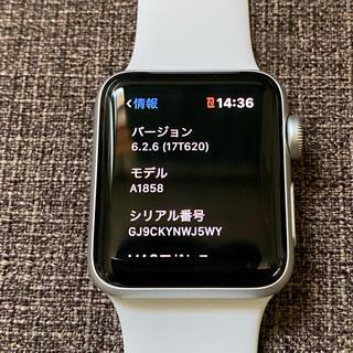 アップルウォッチ(Apple Watch)の★Apple Watch series3 38mm GPS★(腕時計(デジタル))