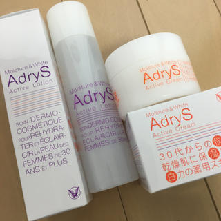 タイショウセイヤク(大正製薬)の【新品未使用】AdryS 化粧水 クリーム セット(化粧水/ローション)