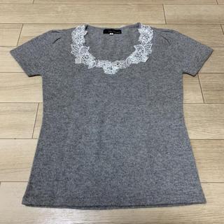クリアインプレッション(CLEAR IMPRESSION)のクリアインプレッション 半袖ニット 美品(ニット/セーター)
