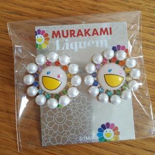 新品 Murakami × Liquem お花ピアス 村上隆(ピアス)