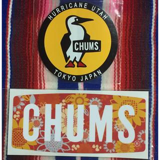 チャムス(CHUMS)の新品 CHUMS Sticker 2枚セット チャムス ステッカー i(その他)