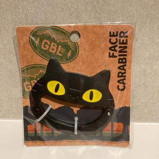 ジブリ(ジブリ)のGBL 限定 ネコバス カラビナ ブラック となりのトトロ ジブリ(キャラクターグッズ)