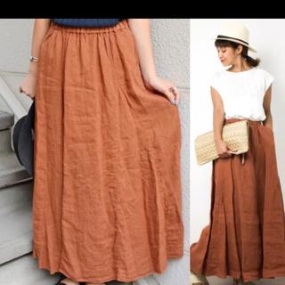 SHIPS for women - リネンオーバーダイスカート
