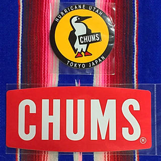 チャムス(CHUMS)の新品 CHUMS Sticker 2枚セット チャムス ステッカー j(その他)