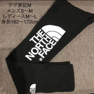 ザノースフェイス(THE NORTH FACE)のノースフェイス 新品 タグ付き タイツ スパッツ  レギンス ブラック Mサイズ(レギンス/スパッツ)