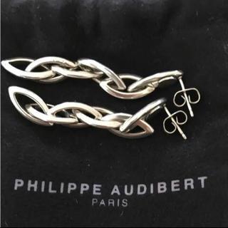 フィリップオーディベール(Philippe Audibert)のPHILIPPE AUDIBERT クロスチェーン D-DRAGON(ピアス)