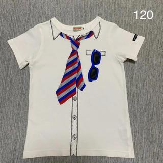 mikihouse - ミキハウス だまし絵Tシャツ 120  ファミリア