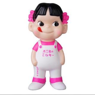不二家 ソフビコレクション ペコちゃん(白×蛍光ピンク)(キャラクターグッズ)
