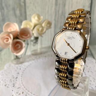 Christian Dior - 【電池交換済み】Christian Dior ディオール 腕時計 オクタゴン
