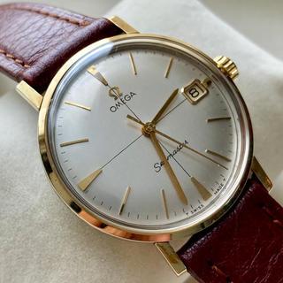オメガ(OMEGA)の売約済/OMEGA  オメガ  シーマスター  デイト表示 アンティーク 極美品(腕時計(アナログ))