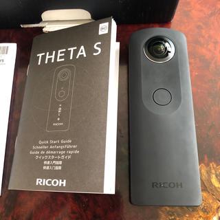 リコー(RICOH)のTHETA S ブラック(コンパクトデジタルカメラ)