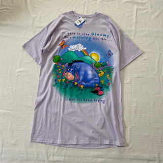 ディズニー(Disney)のイーヨー ビッグTシャツ ワンピース(ひざ丈ワンピース)