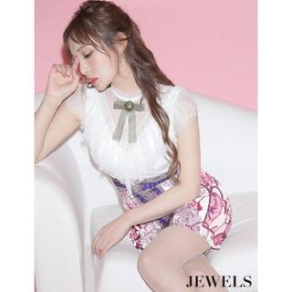 JEWELS - Jewels キャバドレス ブローチ付き