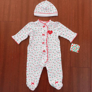 リトルミー(Little Me)のリトルミー ベビー服 ロンパース 70サイズ 3M(ロンパース)