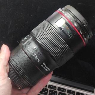 Canon - 【美品・使用頻度少】Canon 100mm 2.8L